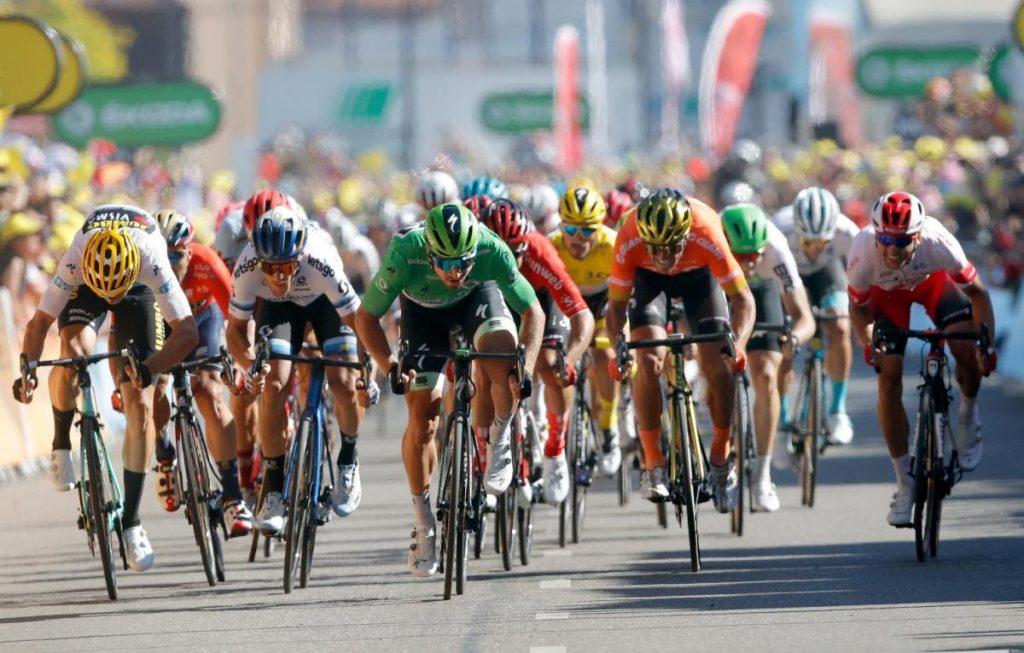 Sagan Sprints à la victoire dans la 5ème étape du Tour De France   Nouvelles sportives