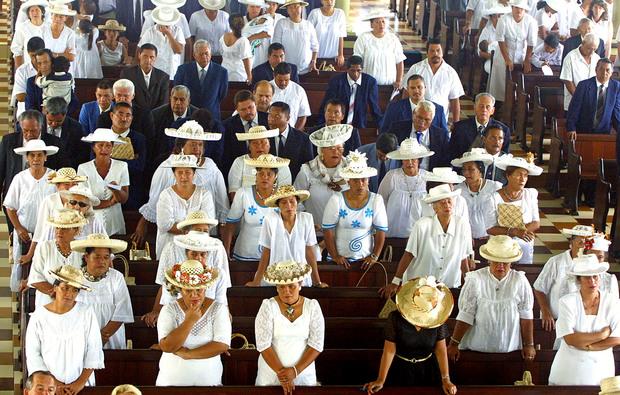 L'assemblée de la Polynésie française et les membres de la communauté ont protesté lorsque le territoire a été proposé comme site test, mais le projet a été rejeté. Prise en 2004