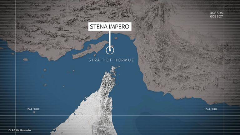 Le Stena Impero a été saisi dans le détroit d'Ormuz