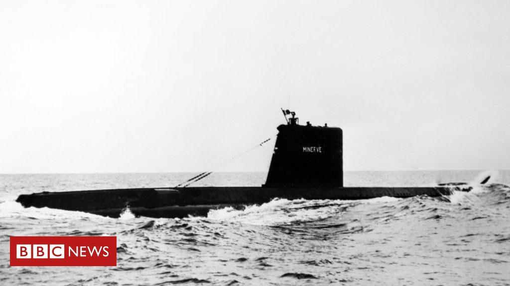 Le sous-marin français Minerve est retrouvé après sa disparition en 1968