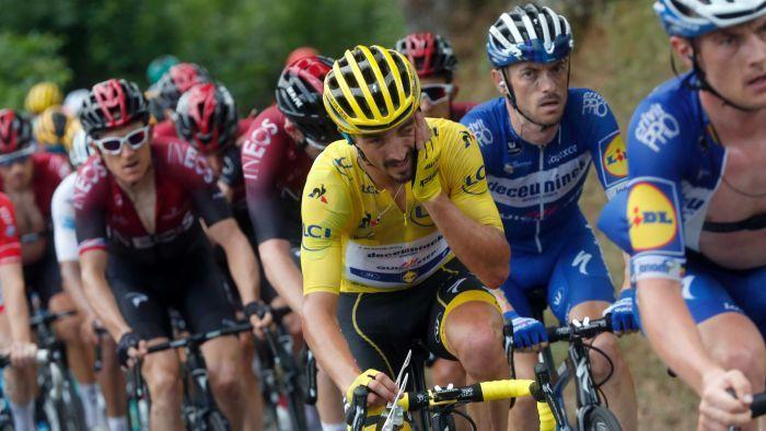 Nous n'avons aucune idée du vainqueur du Tour de France cette année, et c'est ce qui en fait une si belle course.