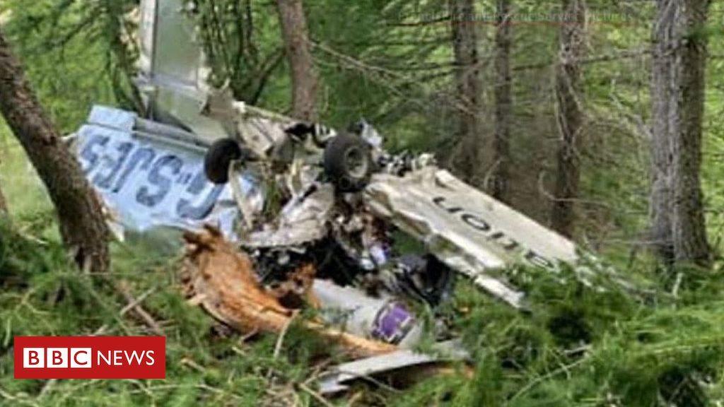 Des Britanniques meurent dans l'avion de Morpeth dans les Alpes françaises