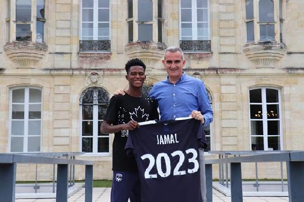 Jamal Haruna de WAFA signe pour Bordeaux en France