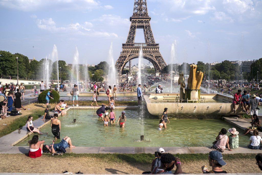 Des températures record ont déferlé sur la France, la Belgique, l'Allemagne, les Pays-Bas et la Grande-Bretagne