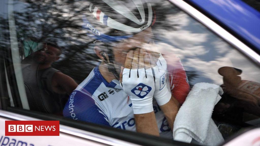 Les cyclistes français frappés à nouveau par la malédiction du Tour de France