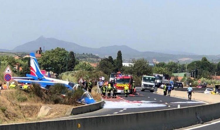 Accident d'avion en France: un avion de combat militaire s'écrase sur une route près de l'aéroport | Monde | Nouvelles
