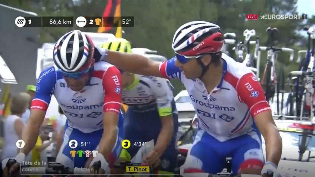 Actualités du Tour de France 2019 - Le GC de Thibaut Pinot espère se désagréger après une blessure aggravée au cours de la 19ème étape - Eurosport.com ASIA