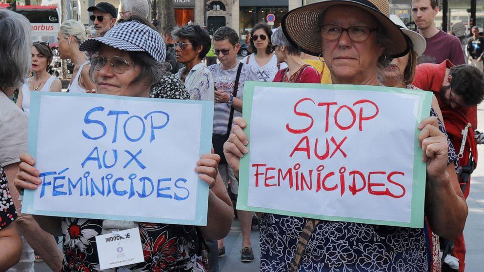 France: Macron s'engage à protéger les femmes des partenaires violents