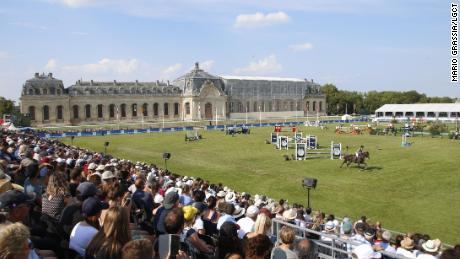 L'arène de Chantilly