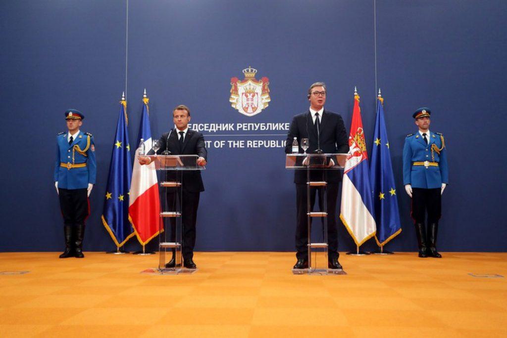 Le Français Macron s'engage à relancer le dialogue Serbie-Kosovo | Nouvelles