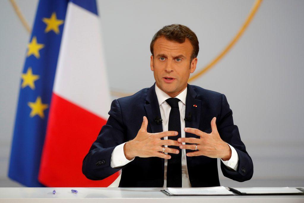Le président français Macron maintient sa salle de presse à l'intérieur du palais de l'Elysée | Voix de l'amérique