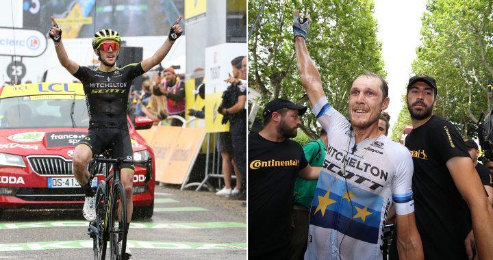 Luke Durbridge Colonne Tour de France: Bienvenue dans le bus de fête