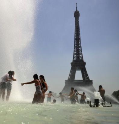 Paris en alerte face aux températures record alors que la vague de chaleur se propage de l'Espagne à l'Allemagne