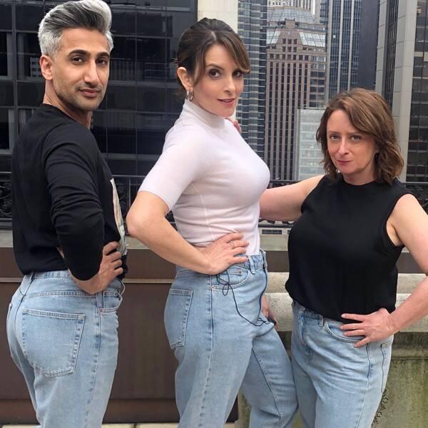 Regarder Tina Fey et Rachel Dratch Revive bien-aimée Jeans SNL Sketch avec Tan France