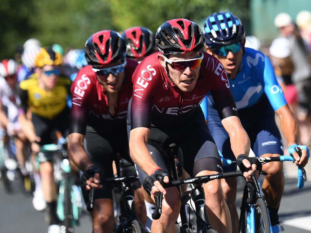 Tour de France 2019: Luke Rowe, capitaine de l'équipe Ineos, exclu de la course après un incident avec Tony Martin
