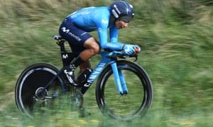 Nairo Quintana en mode contre la montre à Paris-Nice