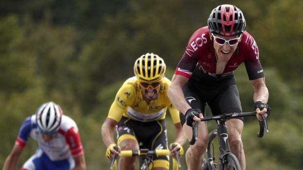 Tour de France: Dylan Teuns remporte la sixième étape alors que Ciccone mène avec Thomas jusqu'à la cinquième place