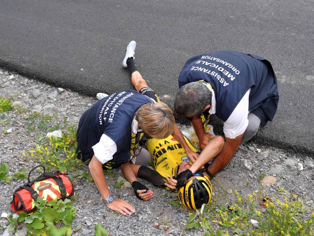Tour de France: George Bennett s'écrase à deux reprises sur l'étape 18