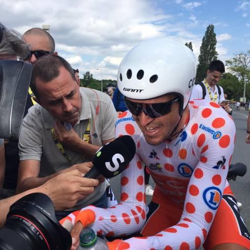 Tour de France: Van Avermaet vise l'arrivée du Champagne à l'étape 3
