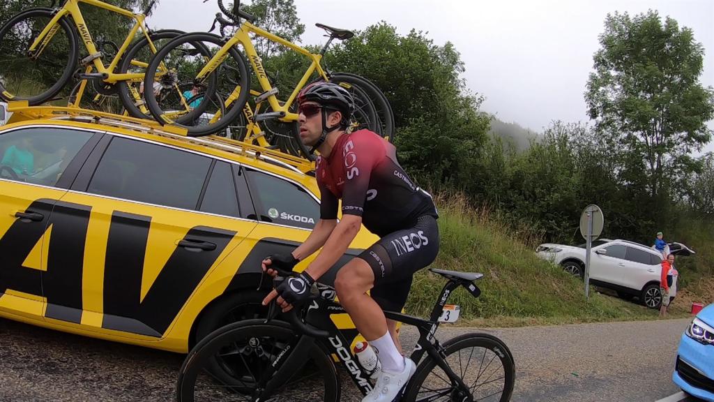 VIDEO - Actualités du Tour de France 2019 - A bord des coureurs de la 15ème étape - Tour de France