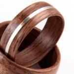 Les anneaux en bois sont une célébration de la vie