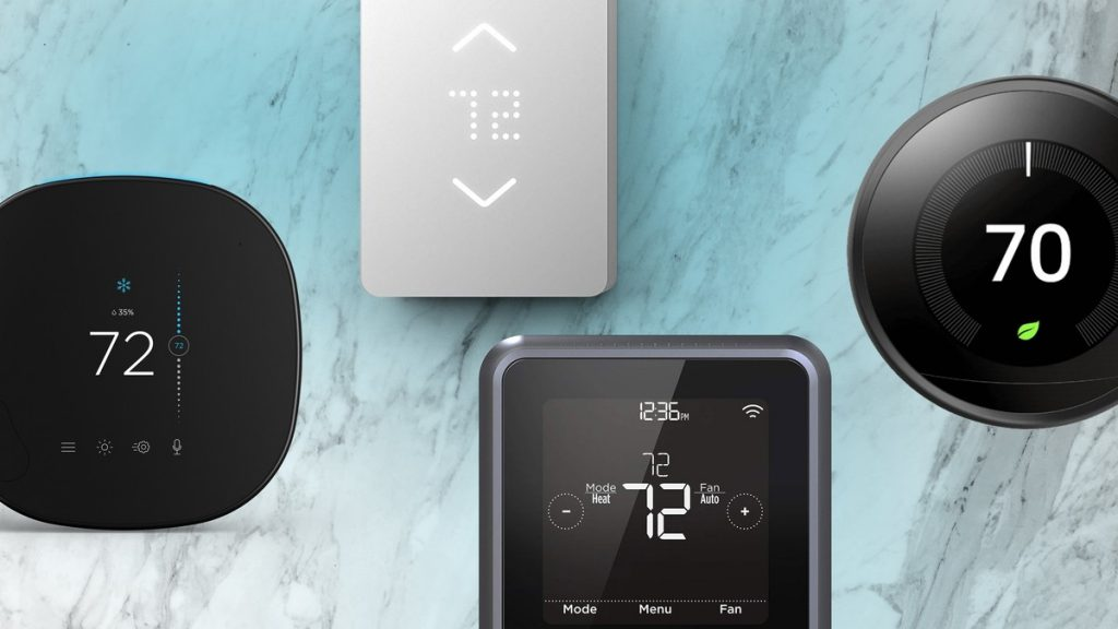 thermostats connectés intelligents