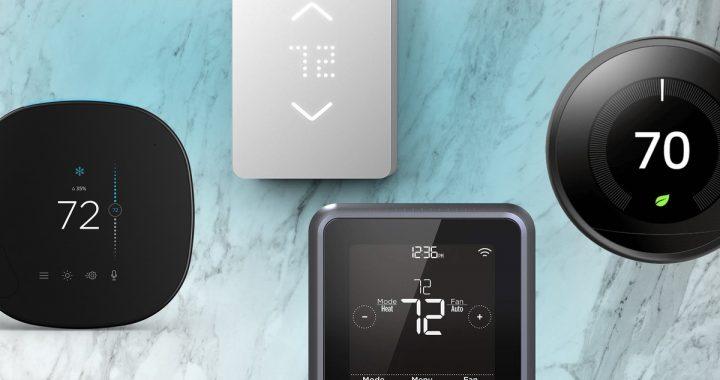thermostats connectés intelligents